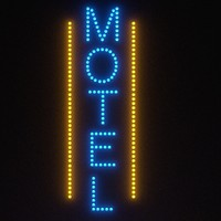 3ds max motel sign