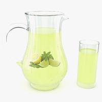 3d juice jug condensation