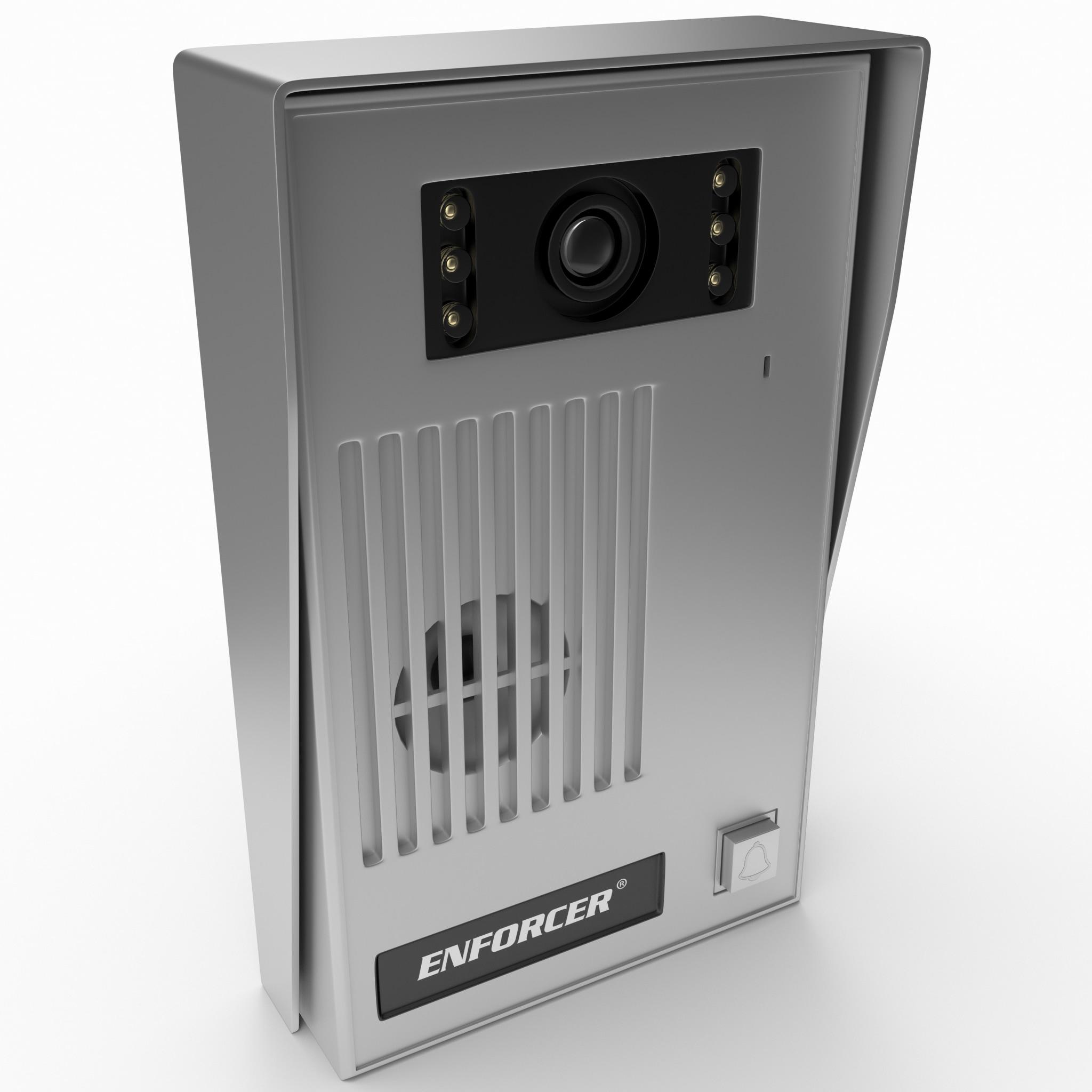 video door bell 3d model