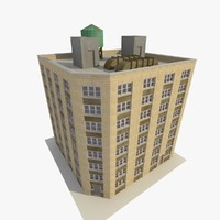 3ds max skyscraper apartments offices