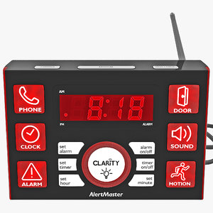 visual alert clarity alertmaster 3d obj