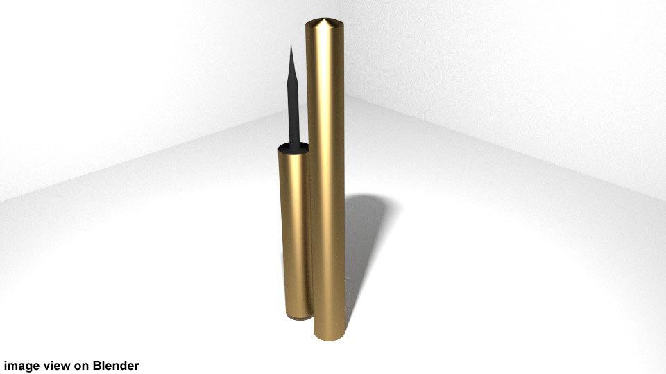 3d model eyeliner