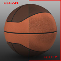 basket ball 3d model