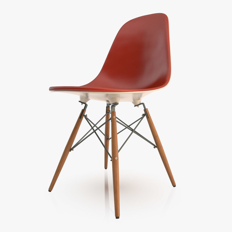 Free Eames Dsw Chair 3d Model