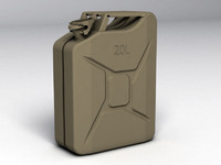 jerry cans 3d max