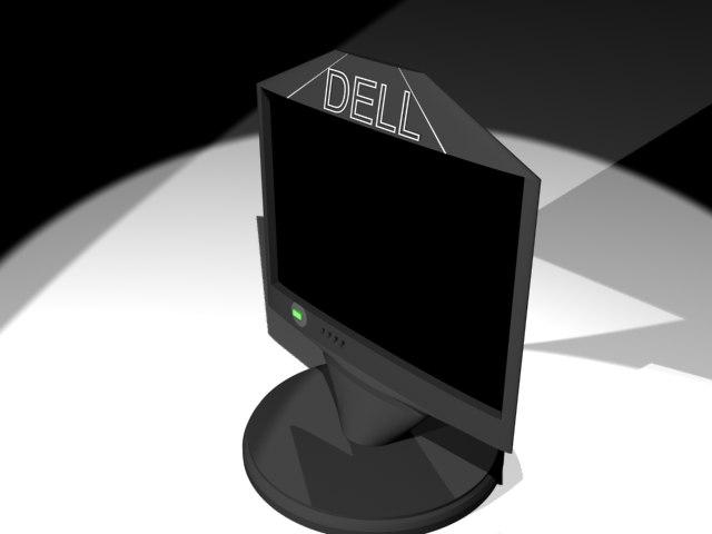dell monitor 3d max