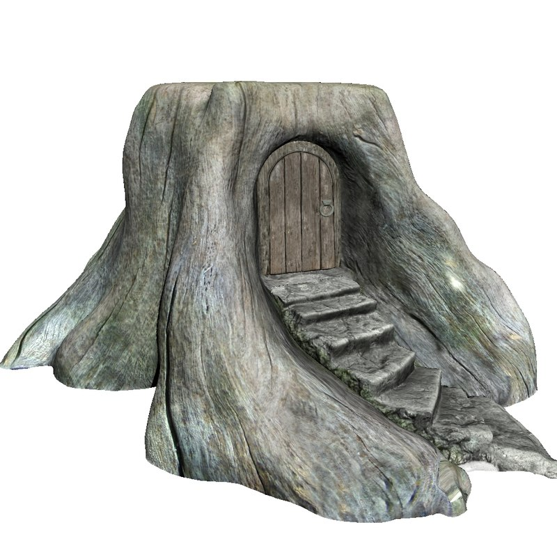 forest house 3d ma