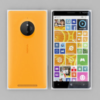 3d nokia lumia 830 orange model