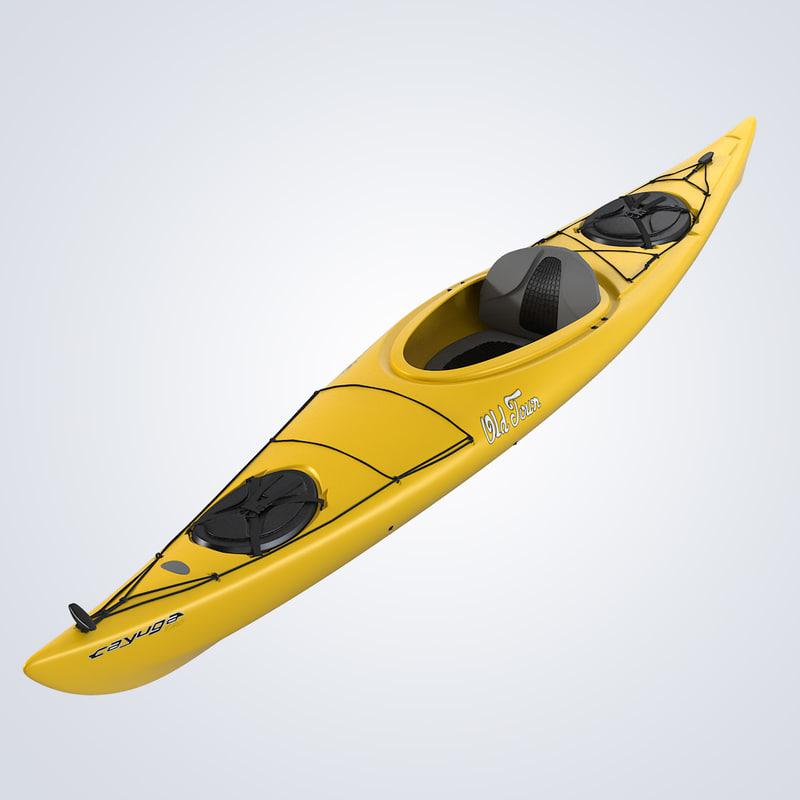 obj kayak