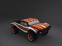 Nitro RC rallye car