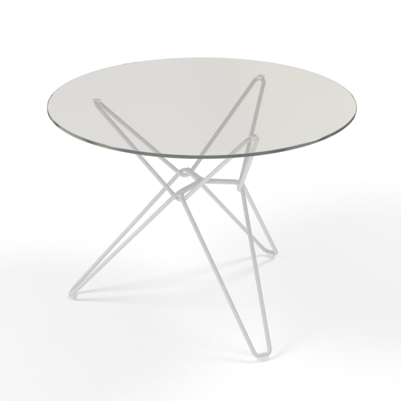 tio circular table laminate 3d model