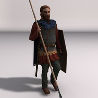 Low-poly Elite Spearman