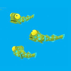 max cartoon fish - goby