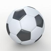 Soccerball HighPoly