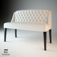 3d model eichholtz bench lancaster