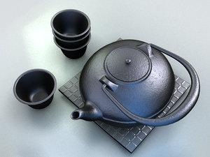 3d max interior kettle