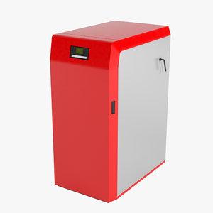 heating 3d model