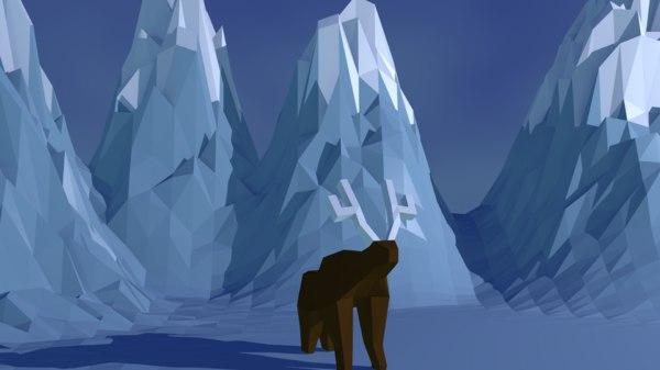 reindeer 3ds