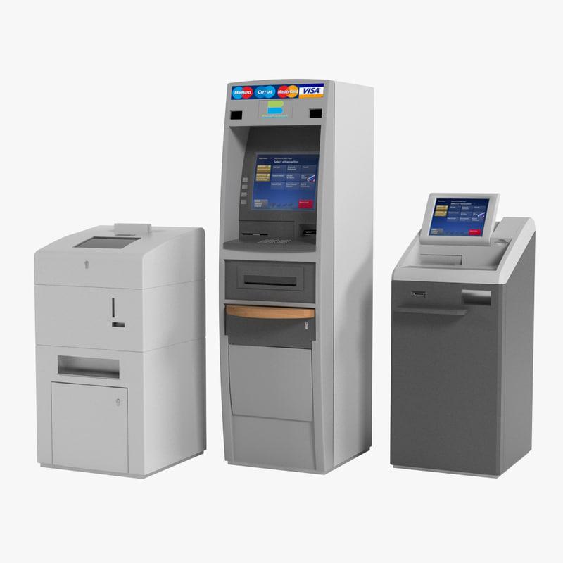 3ds max bank machines