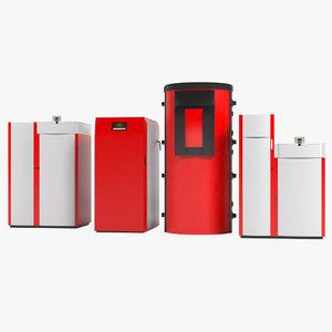 heating units 3d max