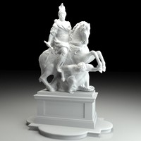 Jan III Sobieski sculpture