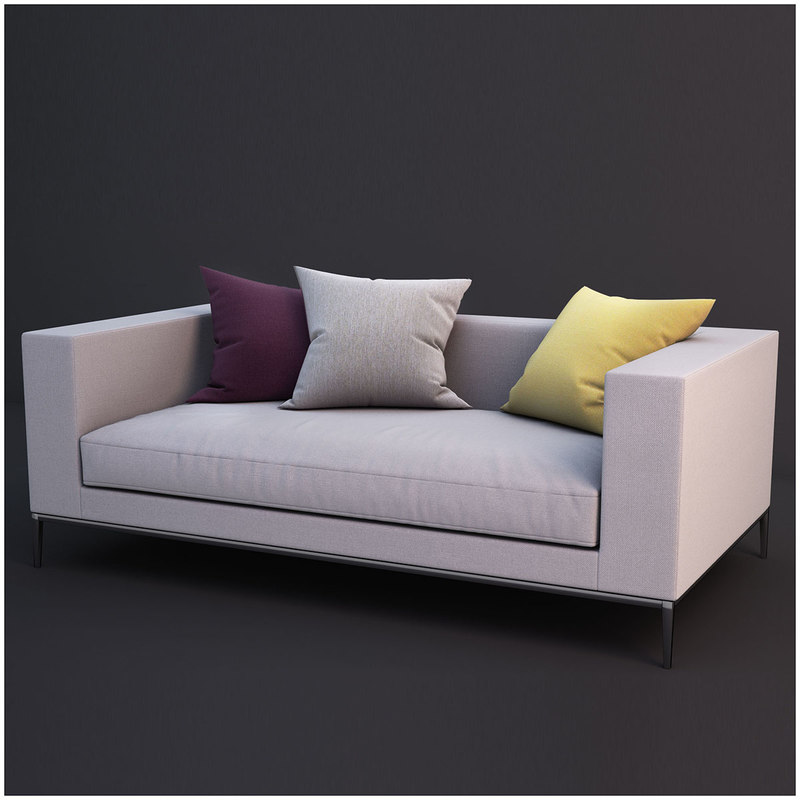 sofa colletion 03 3d model