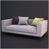 sofa colletion 03 3d model