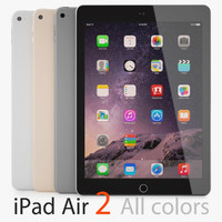 3ds max apple ipad air 2