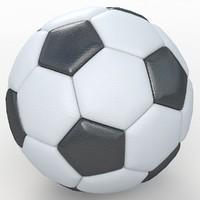 Soccerball big holes