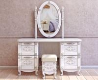 free obj model dresser mirror