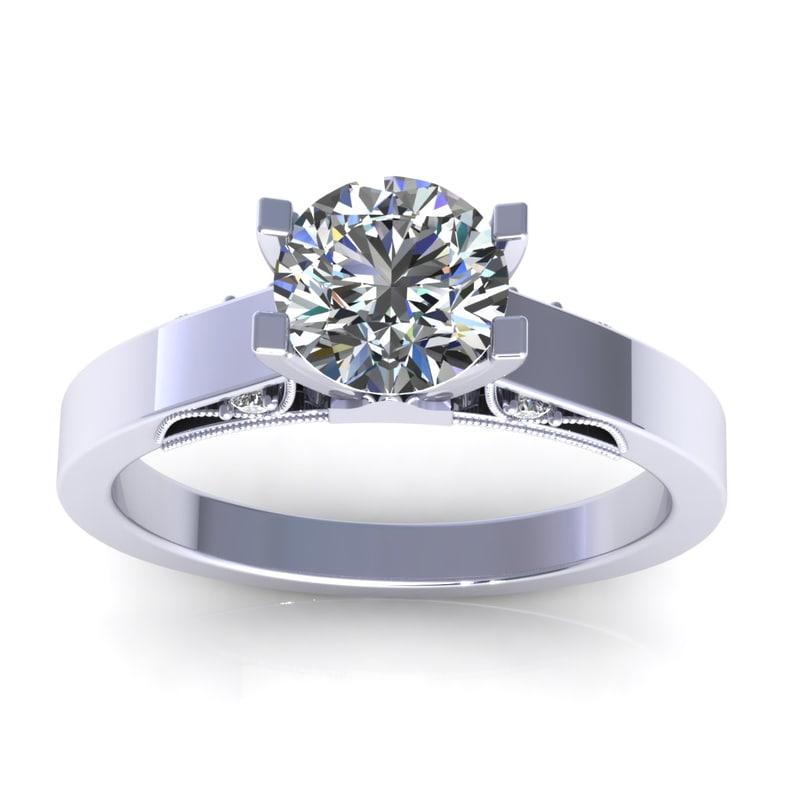 3d 3dm diamond ring