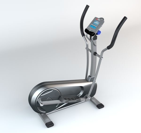 3d elliptical trainer generic model