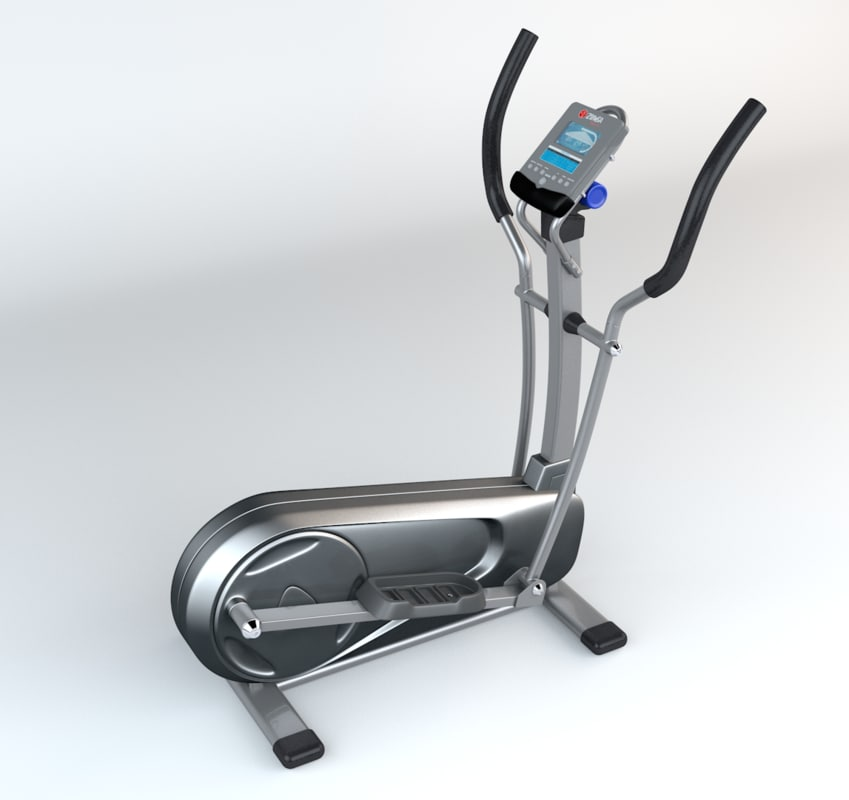 3d elliptical trainer generic model