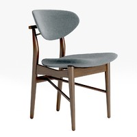 finn juhl dining chair 3ds