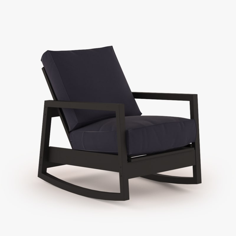 Ikea lillberg rocking chair - 3d Model Ikea Lillberg Chair