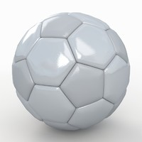 Soccerball big holes white