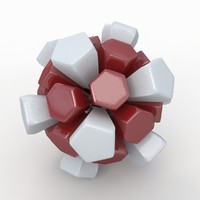 3ds max soccer ball white