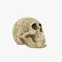 3d model art skull