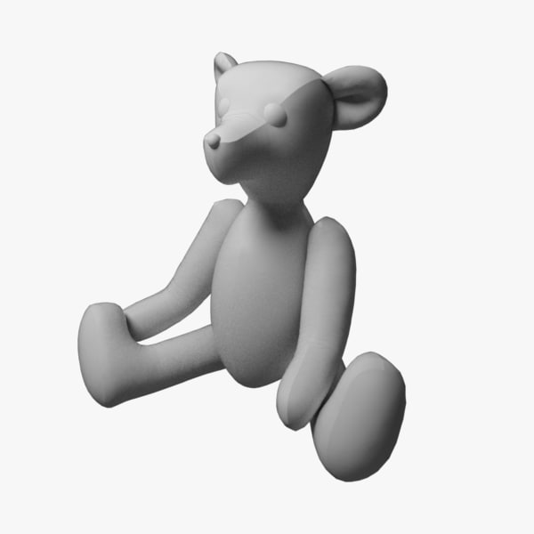 3d toy bear v1