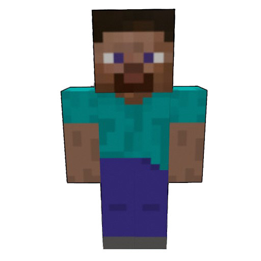 3d Minecraft Steve
