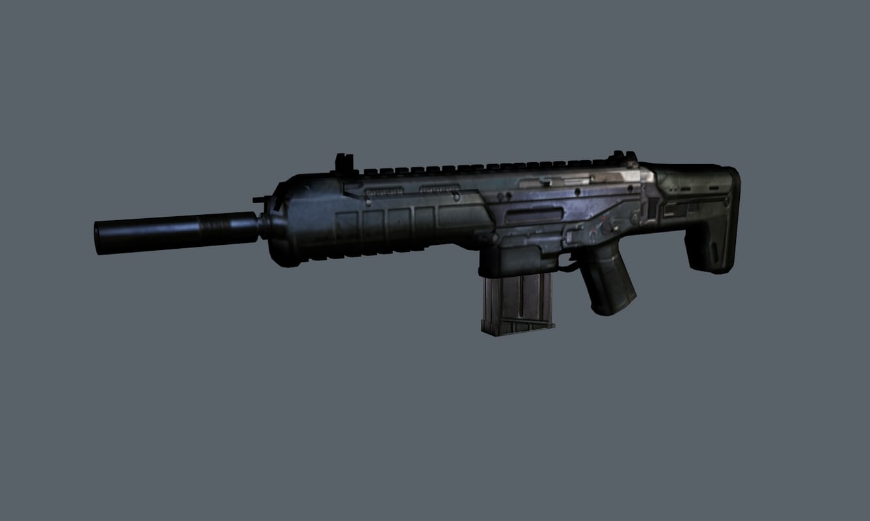 weapons grendel 3d model