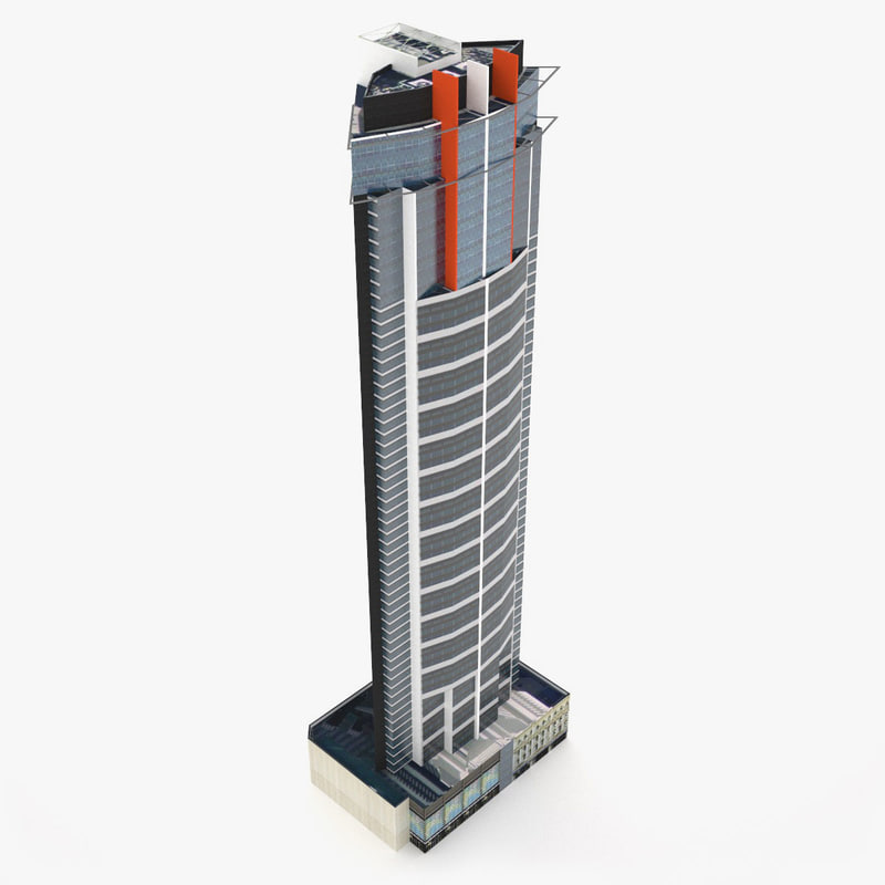 3ds max aurora tower