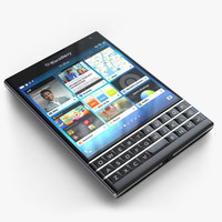 3d black berry passport