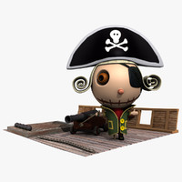 Pirate on Boat
