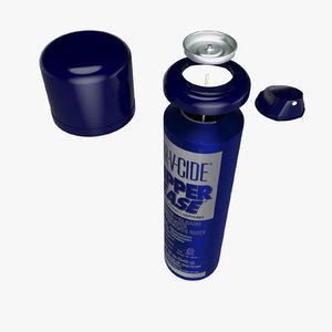max spray aluminium blue