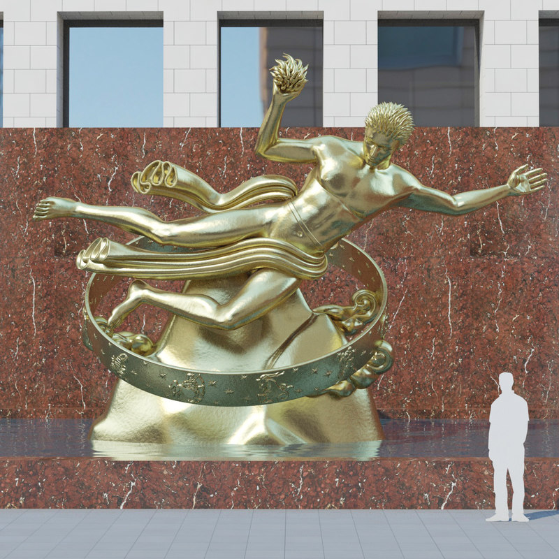 max prometheus statue