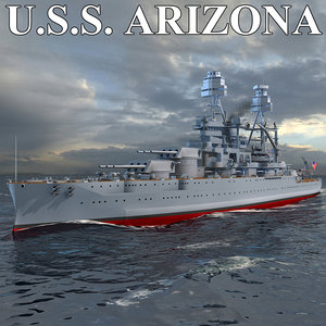 3d 3ds uss arizona
