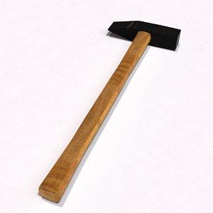 3d masonry hammer