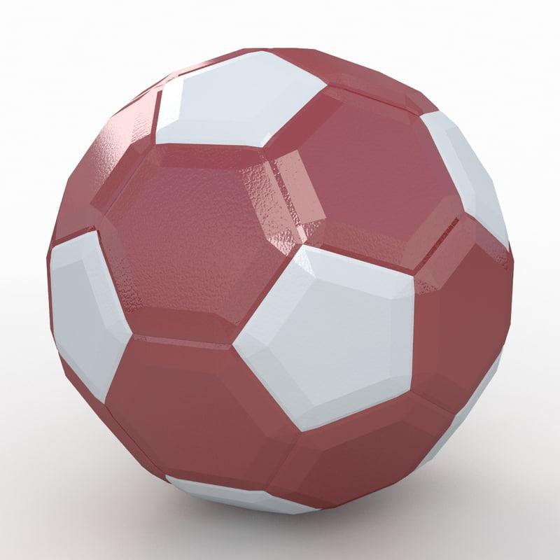 soccer ball white dxf
