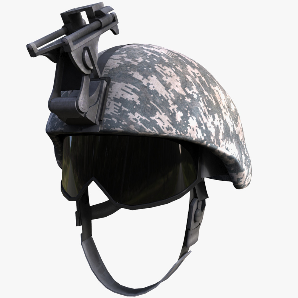 marine helmet 3d model